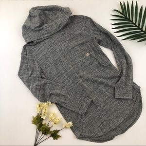 NWT pacsun light weight grey hoodie